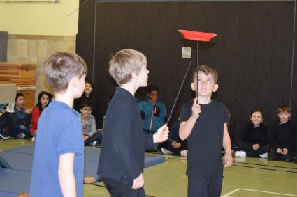 Zirkus in der Lindenschule