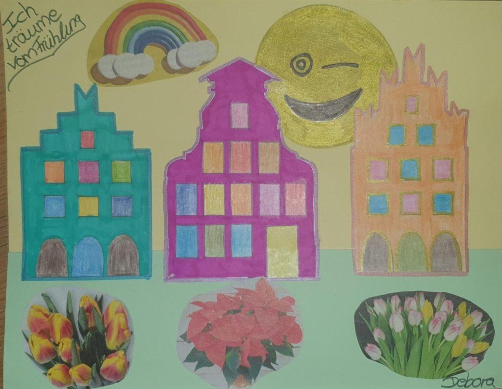 Kunst in der Klasse 3a und 3b