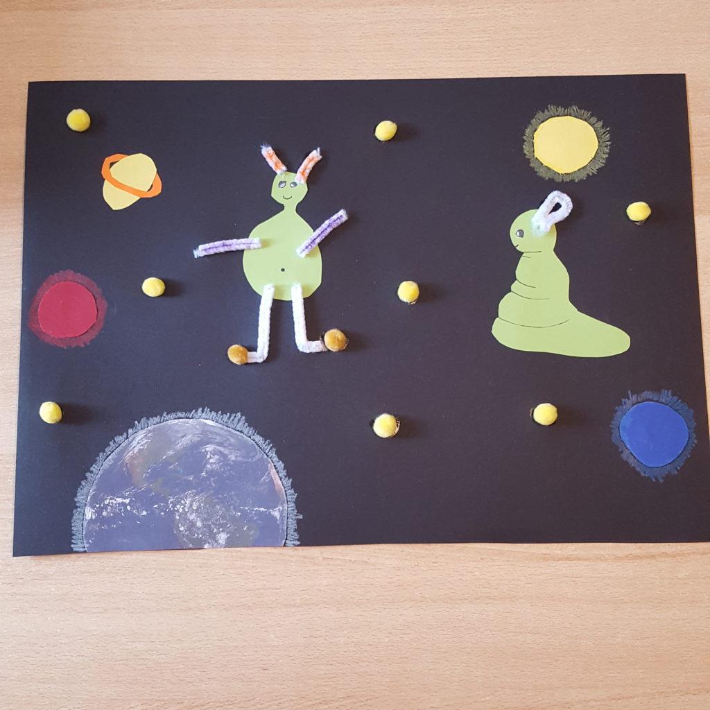 Sachunterricht und Kunst in der Klasse 4a und 4b