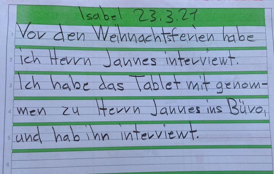 Interview mit Herrn Jannes