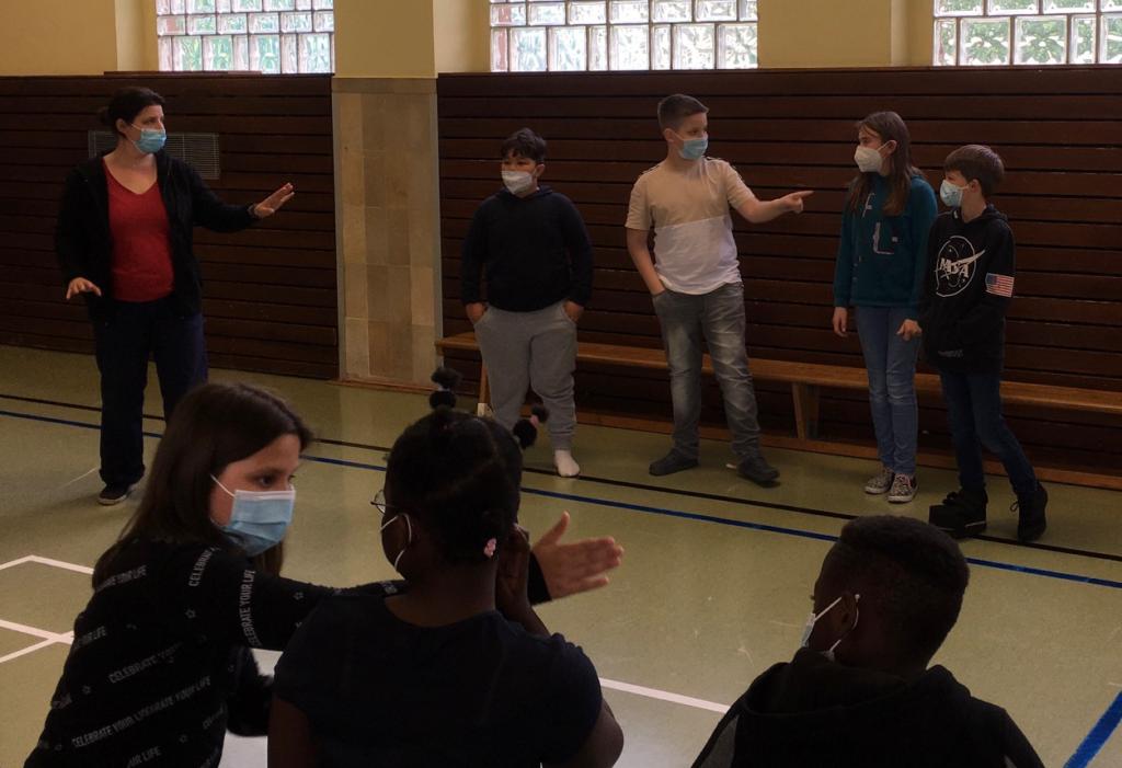 Das DasDa-Theater in der Lindenschule – ein toller Workshop für die Klassen 3